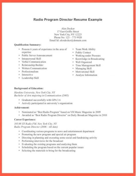 Pre Written Resume by Well Written Resume Musiccityspiritsandcocktail