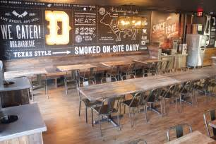 pit restaurant dickey s barbecue restaurants inc debuts redesigned
