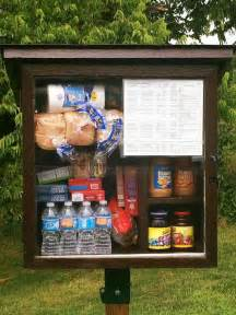 Food Pantry Assistance by Free Pantries Spread Goodies From Sidewalks Let