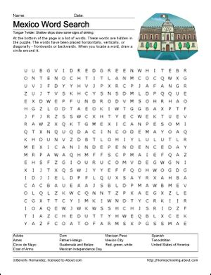 pattern grading en espanol new mexico wordsearch crossword puzzle and more social