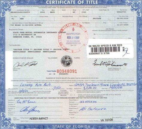 certificate of title car   DriverLayer Search Engine