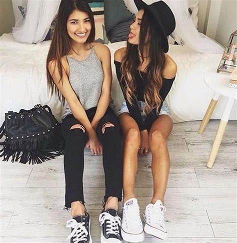 Best Friend S Wardrobe by Bag Best Friends Bff Converse Image 4081850 By