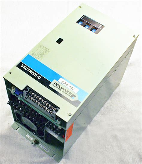 vector of ac drives books used 5 5 kw reliance electric vc 205a vectrive c vector