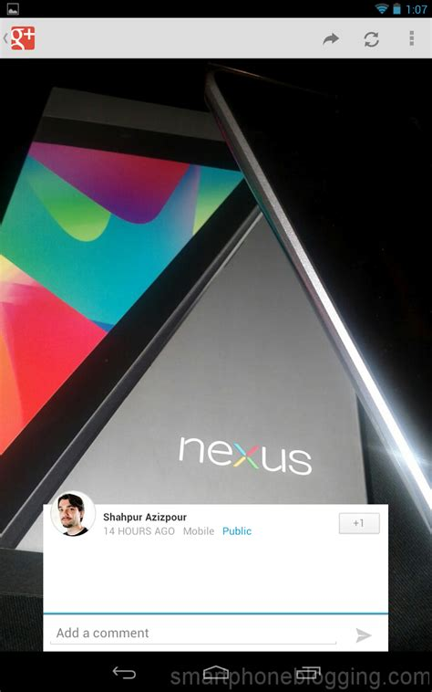 Nexus 7 Tablet Android Jelly Bean review android 4 1 jelly bean for tablets nexus 7 smartphoneblogging
