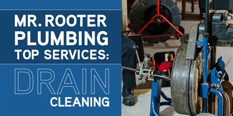 Mr Plumber Plumbing Co by Mr Rooter Plumbing Top Services Drain Cleaning