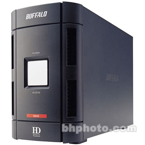 External Disk Buffalo 500gb buffalo drivestation duo 500gb 2 disk fw400 usb 2 hd w500iu2 r1