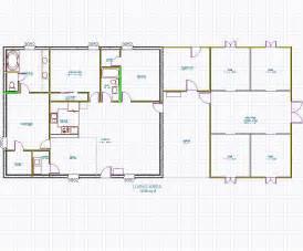 House Barn Combo Floor Plans Pole Barn House Combination Joy Studio Design Gallery