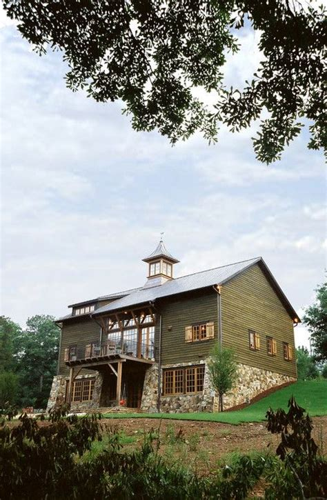 relocated and renovated barn home on the cahaba river in