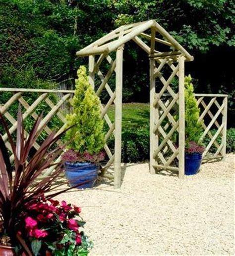 Rustic Wedding Arch Uk by Garden Arch