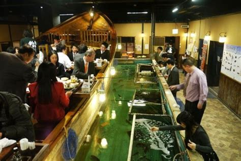 fishing boat restaurant japan eat your catch at fishing restaurant zauo in tokyo