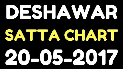 satta king chart 2017 desawar desawar satta chart 20 05 2017 satta king desawar 2017