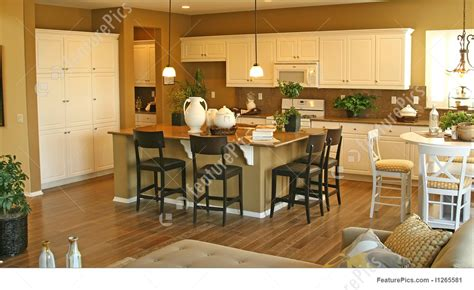 new model home interiors interior architecture model home interiors stock photo