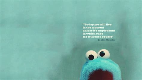 cute wallpapers with quotes free download cookie monster backgrounds wallpaper cave
