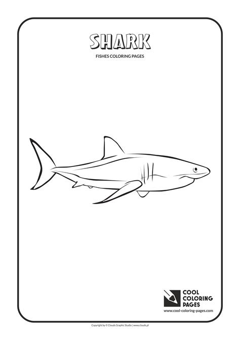 cool coloring pages of sharks cool coloring pages shark coloring page cool coloring