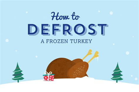 how to thaw a frozen turkey and how not to the