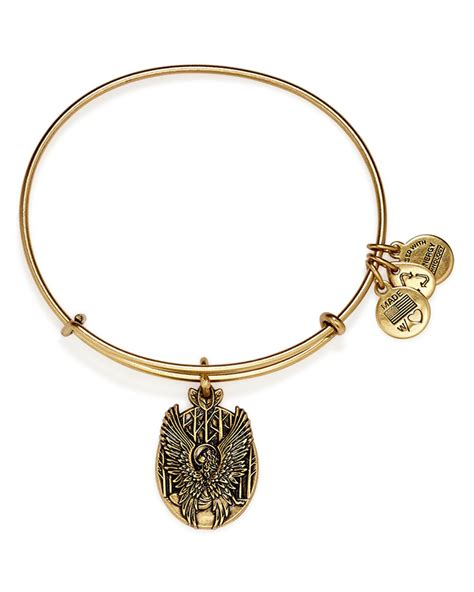 alex and ani bracelet lyst alex and ani guardian of expandable wire