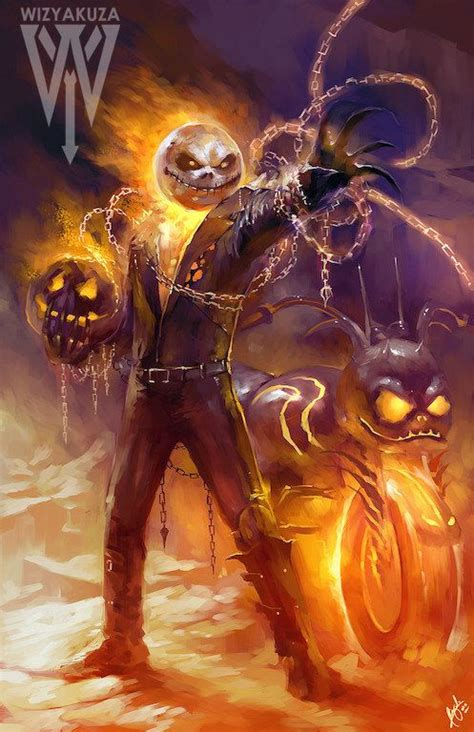 ulasan film ghost rider jack skellington and ghost rider film crossover 11 by