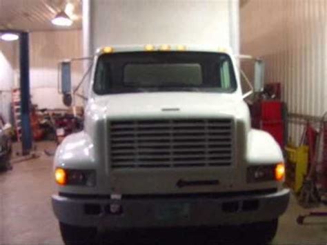 1999 international 4700 rebuilt diesel box truck sold