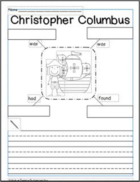 christopher columbus printable biography 9 best images about columbus day on pinterest cut and