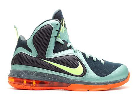 Nike Lebron lebron 9 quot cannon quot nike 469764 004 cannon volt slate blue tm orng flight club