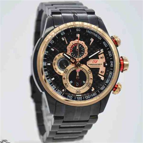 Chronoforce Black White Original jual jam tangan pria chronoforce 5268mbr black rosegold