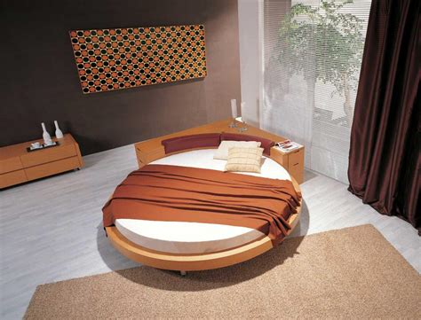 modern round bed modern furniture october 2010