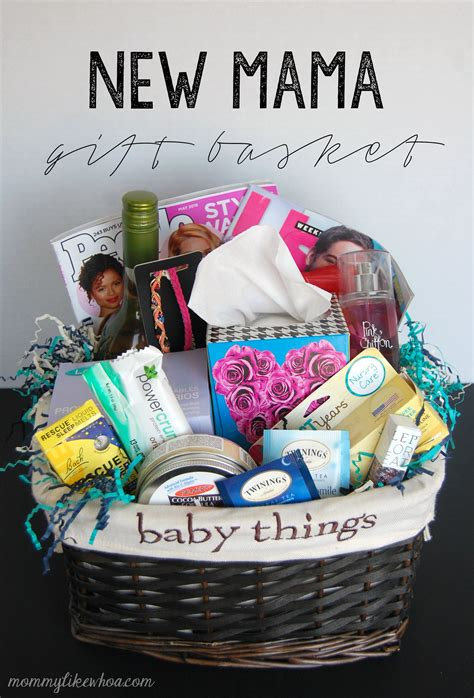 Gifts For New Mothers - new gift basket like whoa