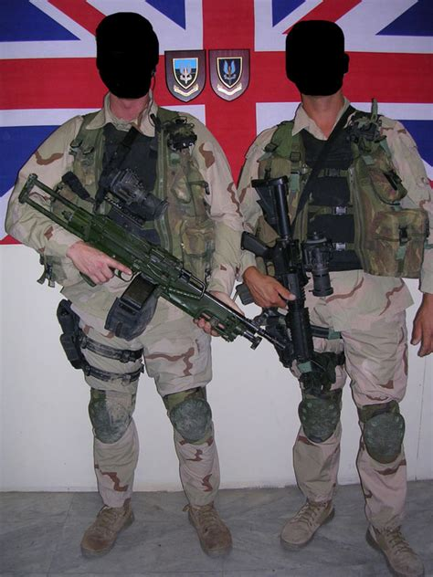 section 20 british special forces list of special forces units