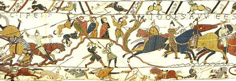 Bishop S Castle Great bayeux tapestry story of william the conqueror and the