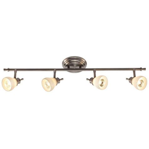 Directional Ceiling Light Fixtures by Hton Bay 4 Light Satin Nickel Directional Ceiling Or