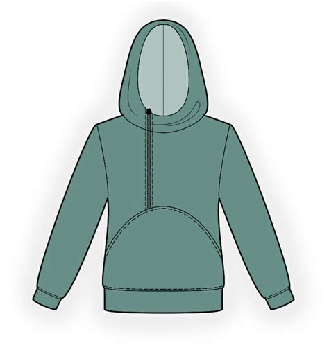 free pattern hoodie hoodie sewing pattern 4341 made to measure sewing