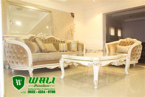 sofa mewah modern ukir jepara model eropa terbaru wali furniture