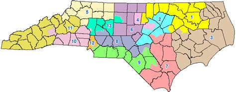 Nc Court Search By Number Carolina S Congressional Districts