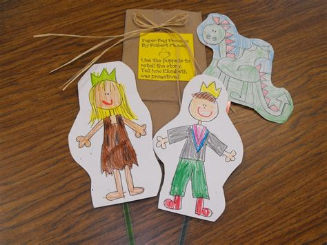 Paper Bag Princess Craft - 65 best images about the paper bag princess on