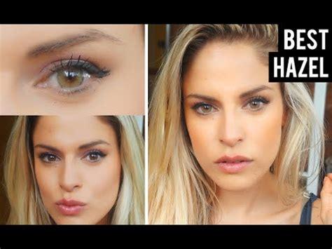 best color contacts for dark brown eyes solotica hazel
