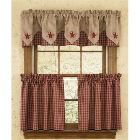 primitive kitchen curtains shower curtains with valance avantie white shower curtain