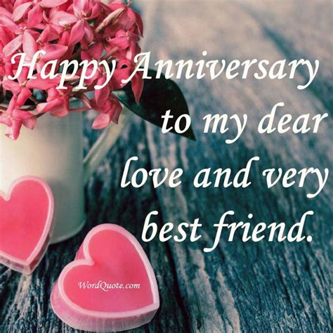 Wedding Anniversary Quotes To My Friend by Happy Anniversary Quotes Word Quote Quotes