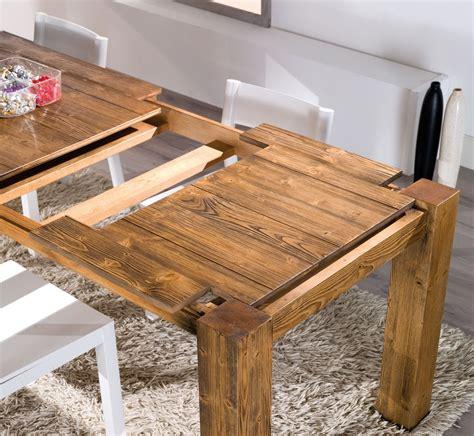 tavolo legno massiccio allungabile tavolo allungabile mira in legno tavoli a prezzi scontati