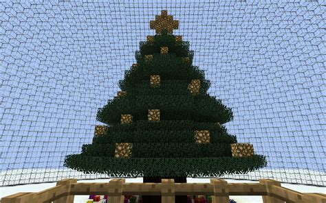 minecraft christmas tree map snow globe made with christmascraft and windux s mod screenshots