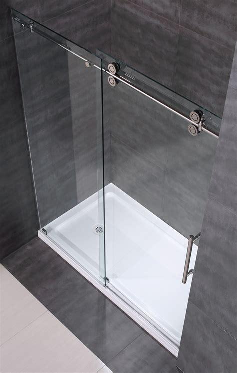 Frameless Sliding Glass Shower Door Hardware Best 25 Frameless Sliding Shower Doors Ideas On Sliding Shower Doors Shower