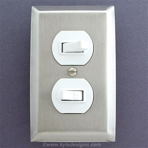 kitchen light switch covers stainless steel light switch plates outlet covers rocker