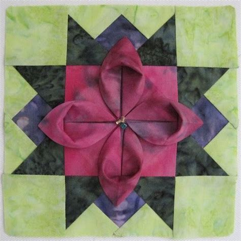 Origami Fabric Folding - 31560 best images about beautiful quilts on