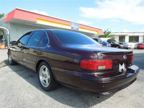 1995 chevy impala ss owner s manual with cd original package sell used 1995 chevrolet impala ss one owner in leesburg florida united states