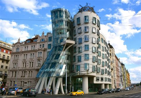Coloring Without Borders: Monday Exposure: Dancing House