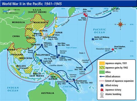 pacific theater ww2 map thinglink
