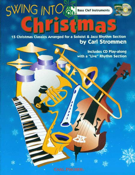 christmas swing music swing into christmas sheet music by various sheet music plus