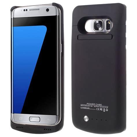 S7 Edge Externe Batterij samsung galaxy s7 edge backup batterij zwart