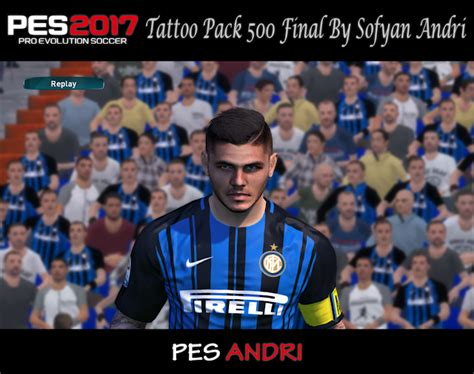 tattoo pack pes 2017 pes modif pes 2017 tattoo pack 500 final by sofyan andri