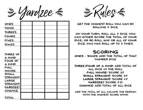 triple yahtzee rules printable best 25 yahtzee rules ideas on pinterest yahtzee score