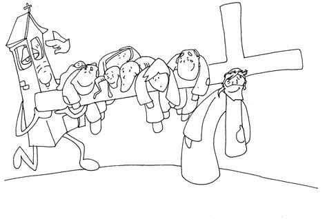 imagenes del via crucis en blanco y negro materiales de religi 211 n cat 211 lica v 237 a crucis de fano para